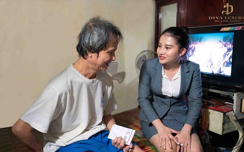 Viện Thẩm mỹ Diva chia sẻ yêu thương đến những hoàn cảnh khó khăn ở Đồng...