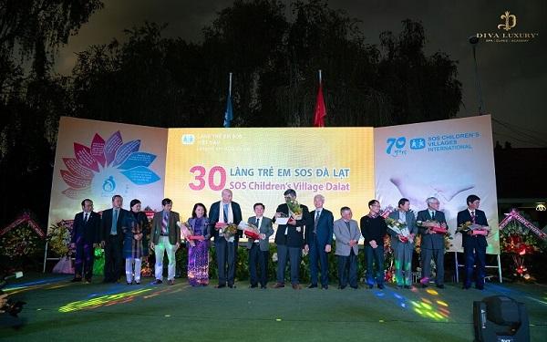 DIVA GROUP Trao Tặng 300 Triệu Đồng Cho Làng Trẻ Em SOS Đà Lạt