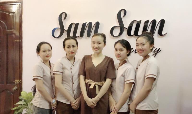 những spa ở quận Tân Phú