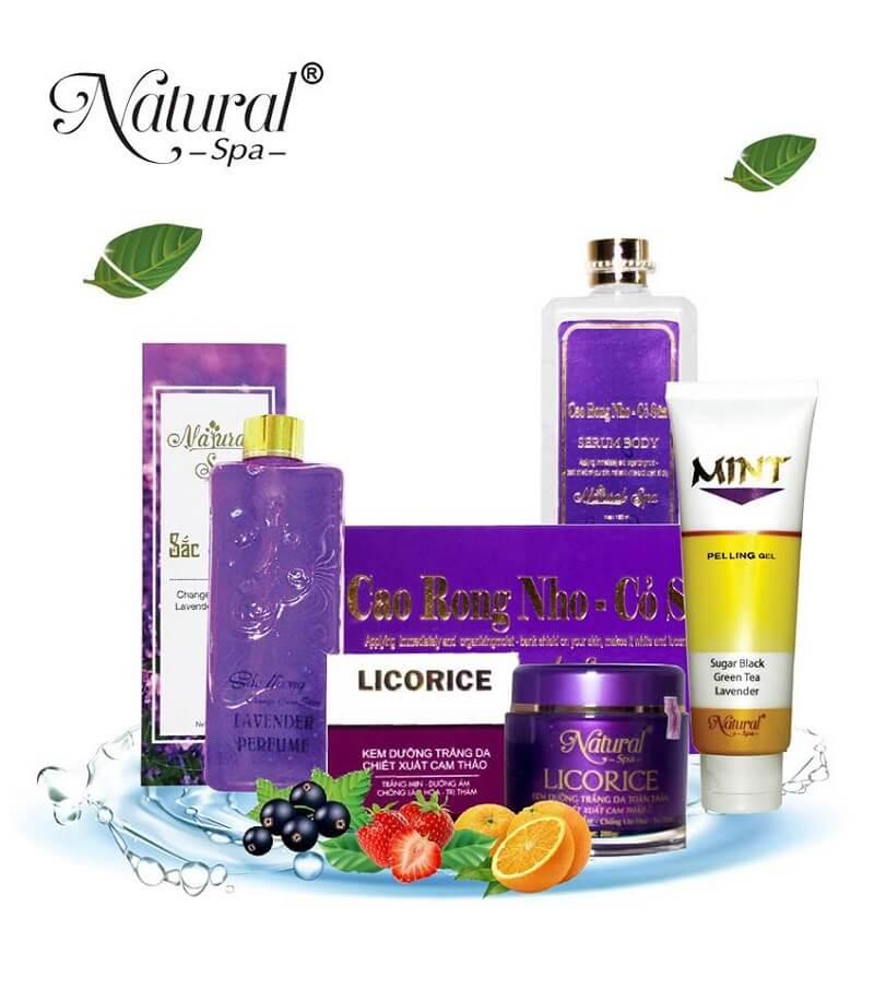 mỹ phẩm natural spa có tốt không