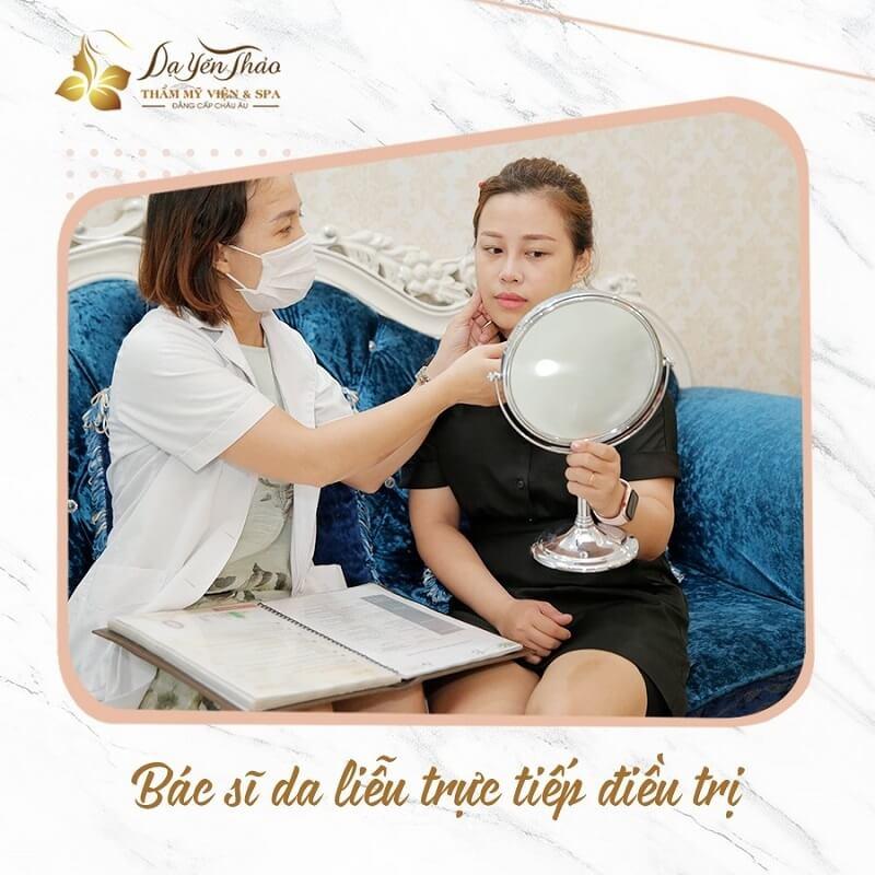 spa chăm sóc da mặt tốt ở hà nội