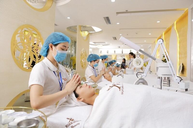 spa trị mụn hiệu quả ở hà nội