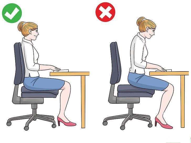 Hướng dẫn chi tiết cách tập ngồi thẳng lưng