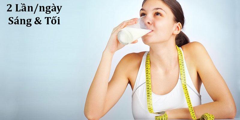 Uống sữa đậu nành có tăng vòng 1 không?